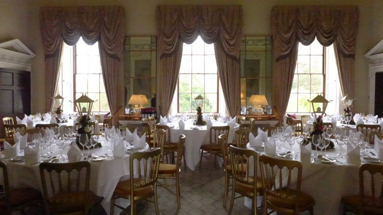 The dining Room. Ston Easton Park.