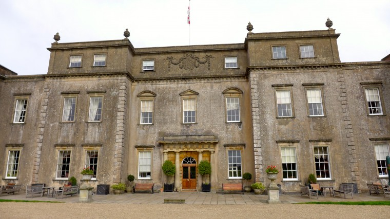 The country house hotel, Ston Easton Park.
