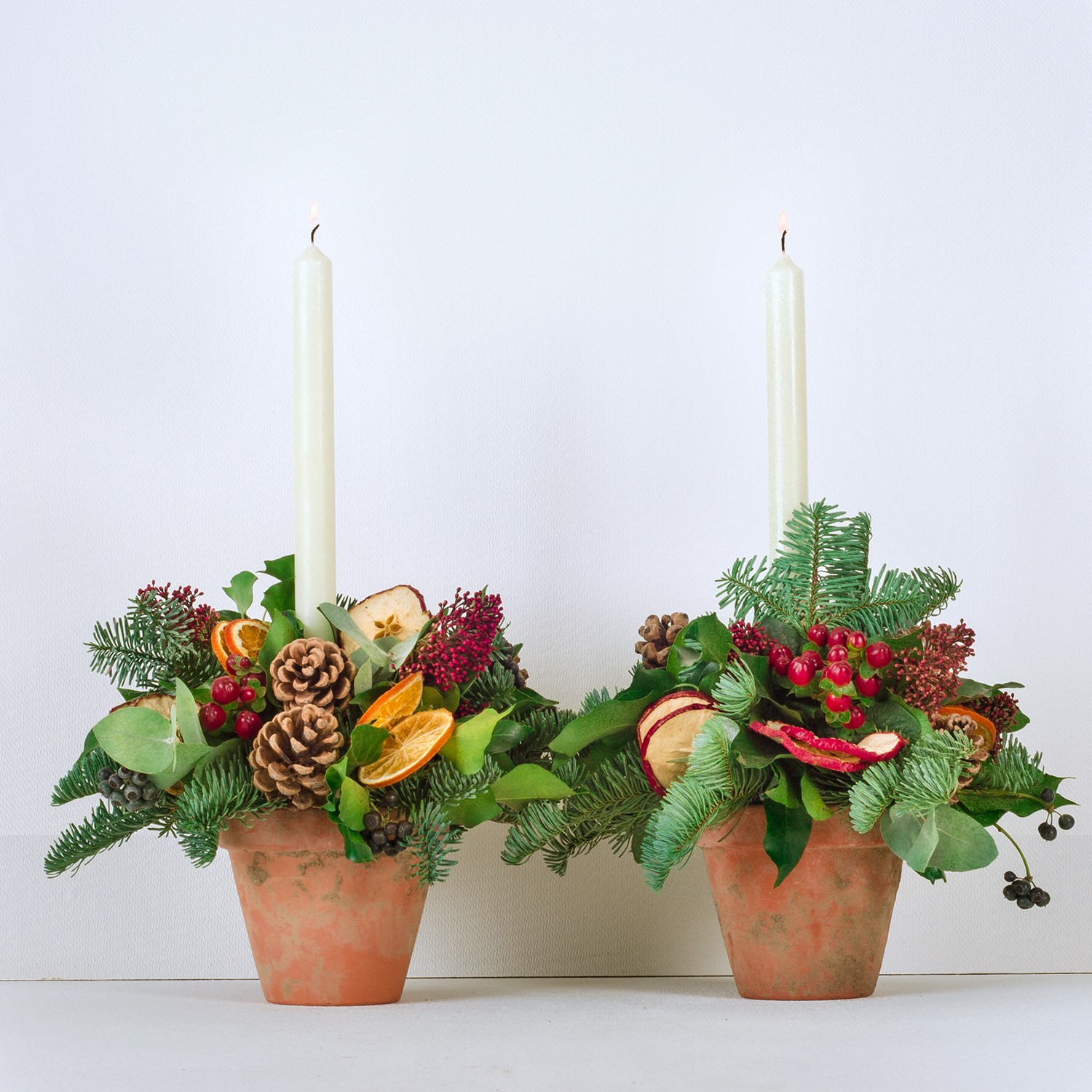 Classic Christmas Table Centres 2