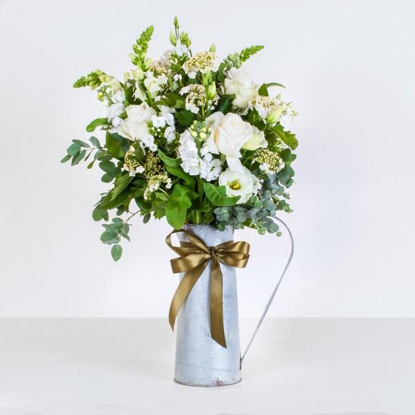 classic white jug