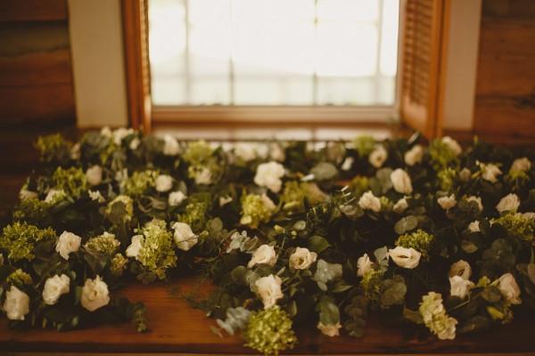 flower garlands, photography Ed Peers