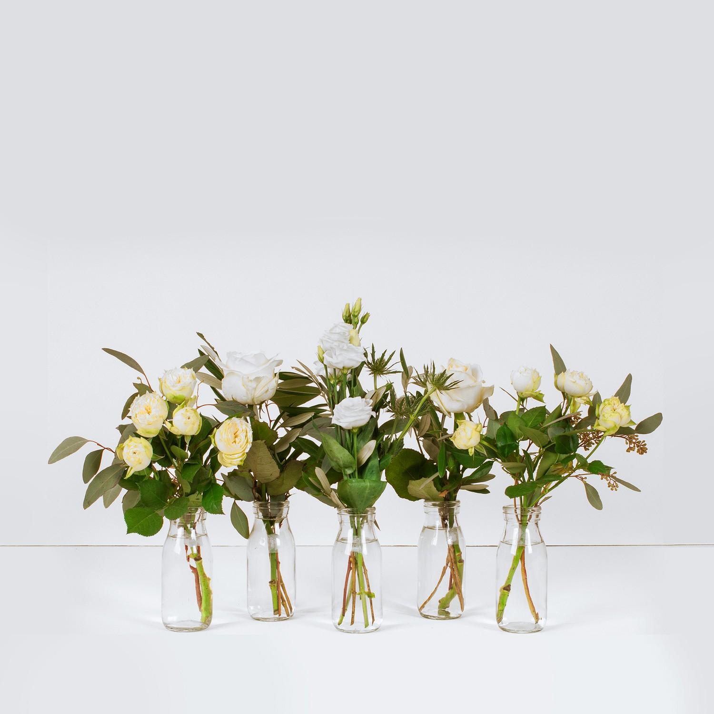 White Vase Selection